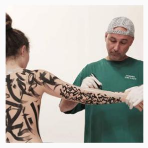Akore. Body painting